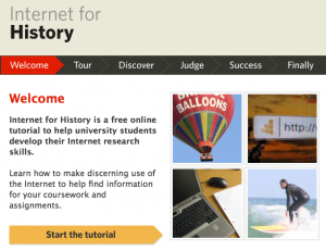 Internet for History